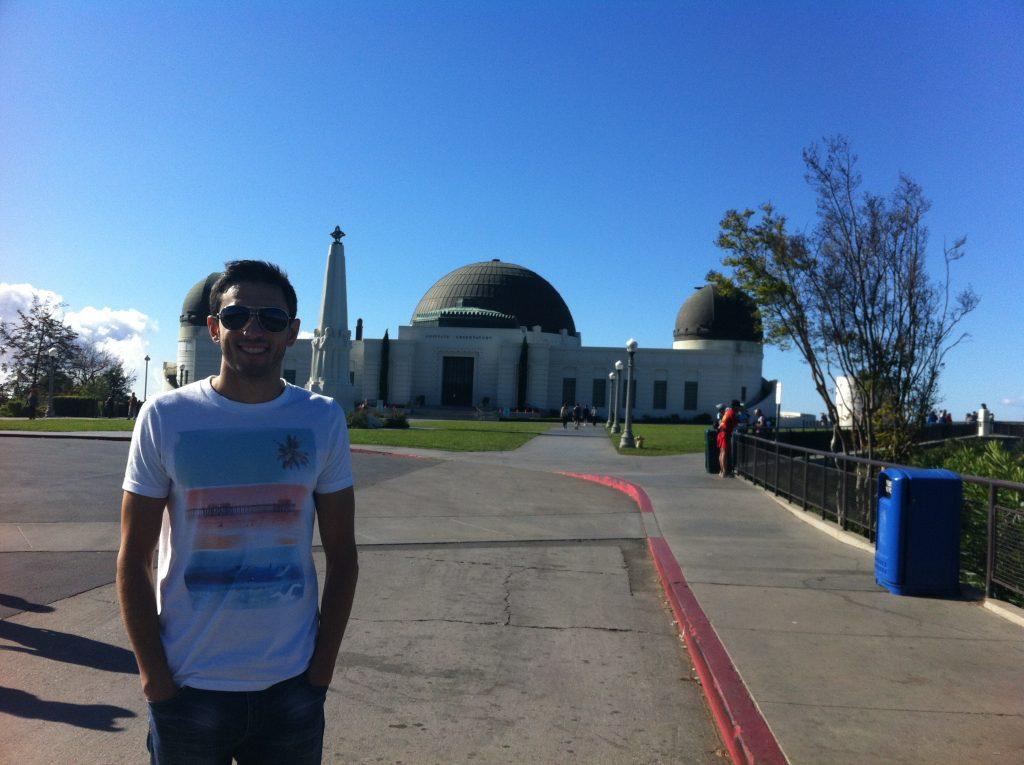 En el Observatorio Griffith (Los Ángeles, California).