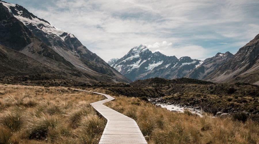 Con unos prismáticos Nikon disfrutarás mucho más tus visitas a Parques Nacionales como el Mount Cook de Nueva Zelanda.