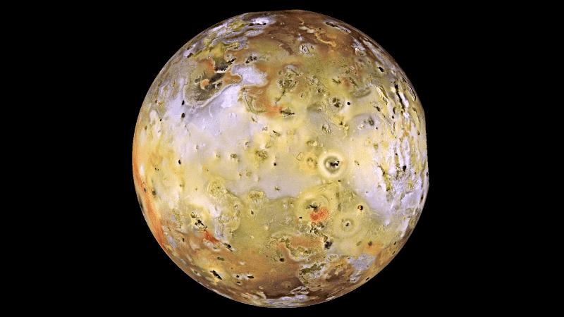 Ío es la luna galileana más cercana a Júpiter.