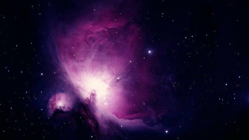 Nebulosa de Orión. Fotografía astronómica.