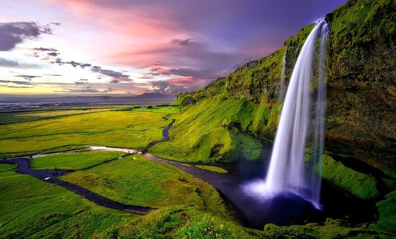 Fotografía de Islandia con una gran HDR.