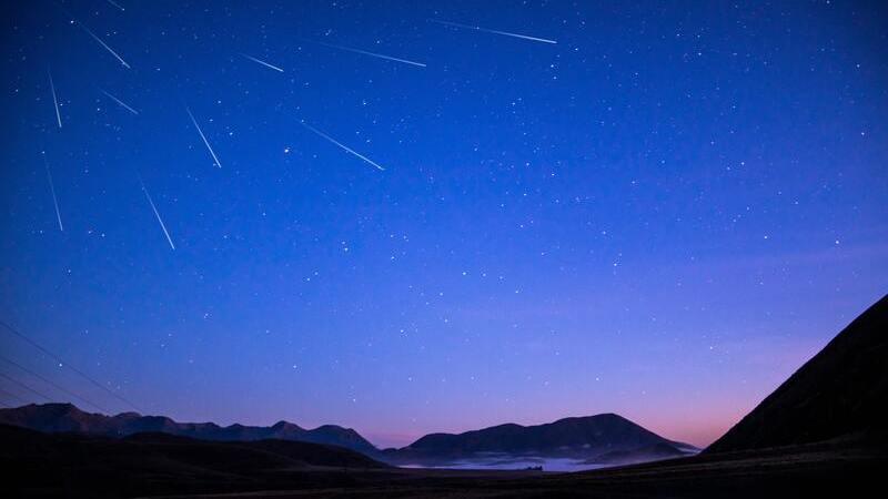 Las lluvias de meteoros parece que vienen de una constelación.