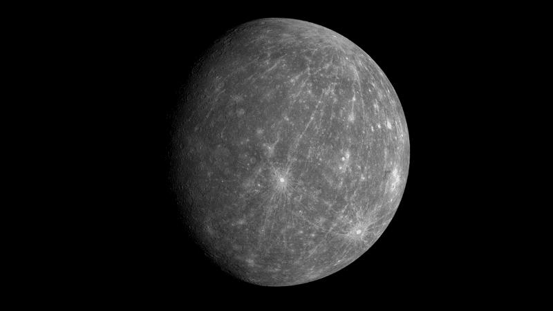 Mercurio no es fácil de ver con un telescopio.