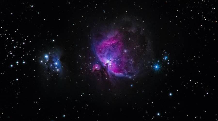La Nebulosa de Orión es un objeto astronómico espectacular y fácil de ver.