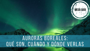 La aurora boreal es un fenómeno que se produce cerca de los polos de la Tierra y en el que tienen que ver la radiación solar.