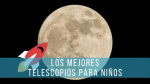 Un telescopio despertará la curiosidad de los niños por la ciencia.
