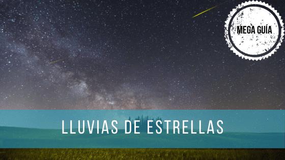 Durante todo el año hay varias lluvias de estrellas en las que se pueden ver decenas de meteoros cada hora.