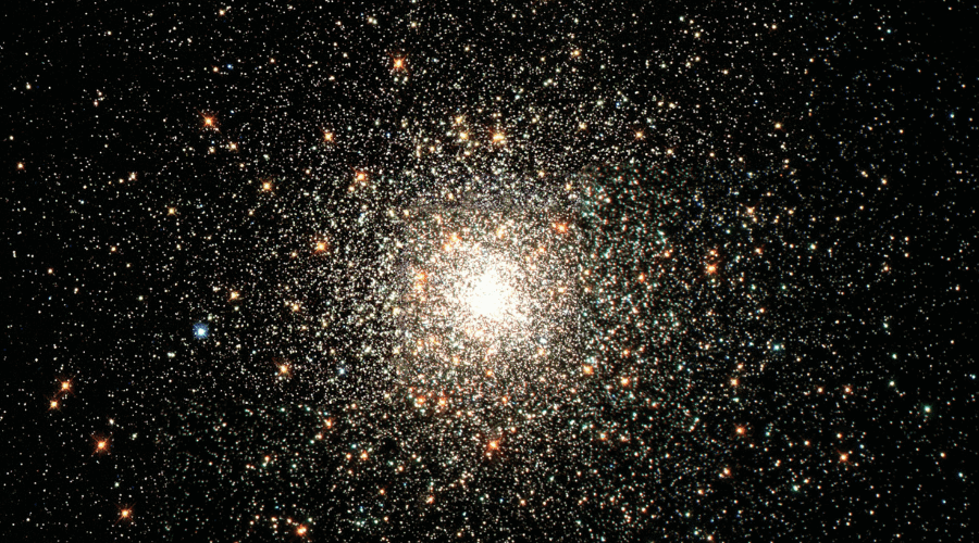 Los cúmulos estelares son grandes agrupaciones de estrellas que están muy cerca unas de otras.
