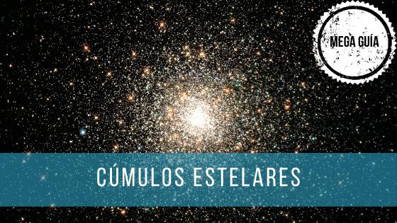 Los cúmulos estelares son grandes agrupaciones de estrellas.