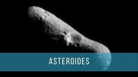 Los asteroides son fragmentos de roca que orbitan alrededor del Sol