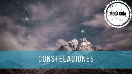 Las constelaciones son agrupaciones de estrellas que dividen la bóveda celeste en diferentes zonas