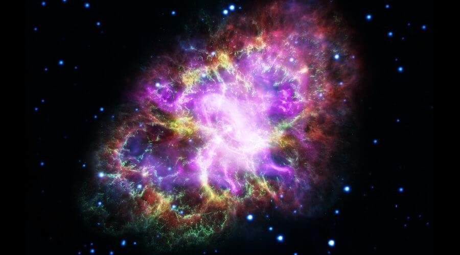La nebulosa del Cangrejo.